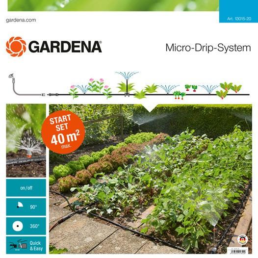 Gardena 13015-20 Micro-Drip-System Start Set Pflanzflächen
