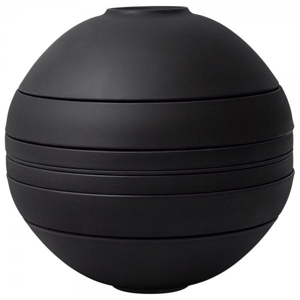Villeroy & Boch Iconic La Boule schwarz - Geschirr für 2 Personen