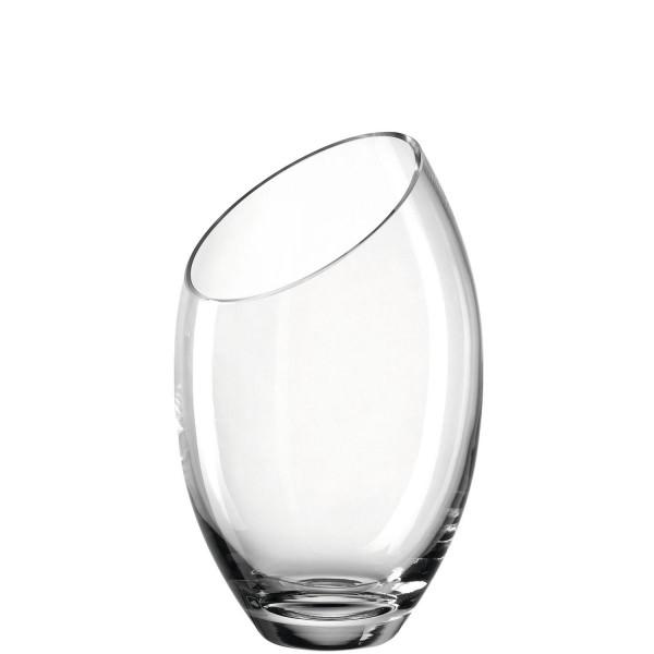 Leonardo 26cm Vase SAVONA diagonal Glas 025704