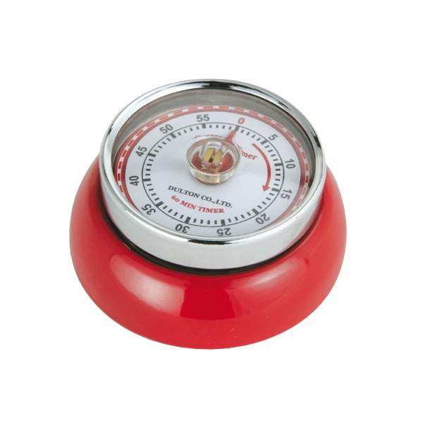 Zassenhaus Timer Speed Retro-Look 7cm Rot
