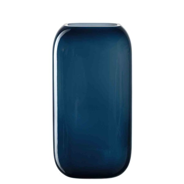 Leonardo 28x15cm Vase blau MILANO handgefertigt