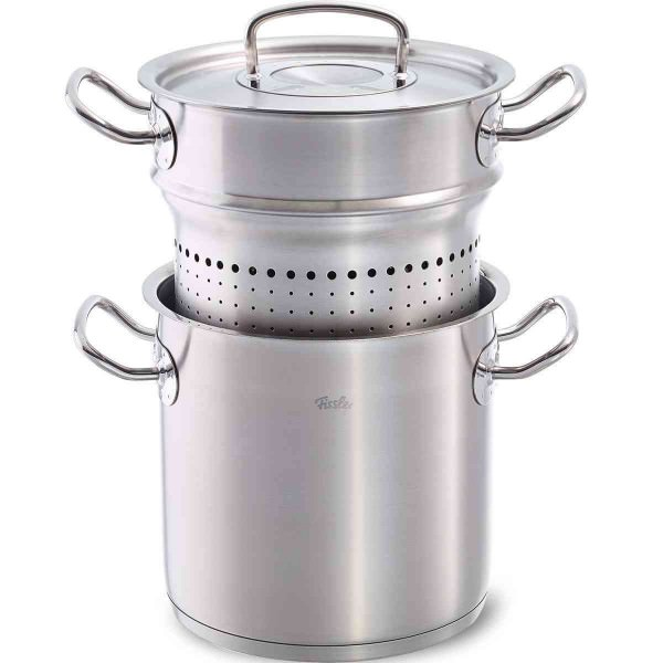 Fissler 20cm Kochtopf Multi-Star mit Siebeinsatz original profi Collection