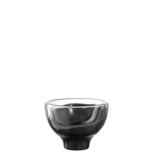 Leonardo 8cm Leuchter POSTO grau doppelwandig Teelicht 070822