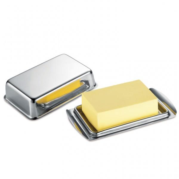 Küchenprofi 0912022800 Butterdose für eine 250g-Packung rostfreier Edelstahl