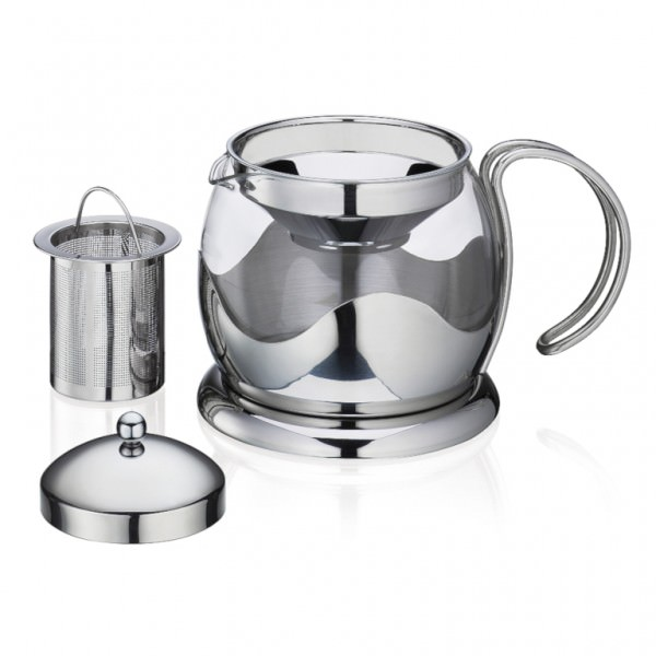 Küchenprofi 1045602800 Teekanne EARL GREY TEA mit Teefilter Borosilikatglas