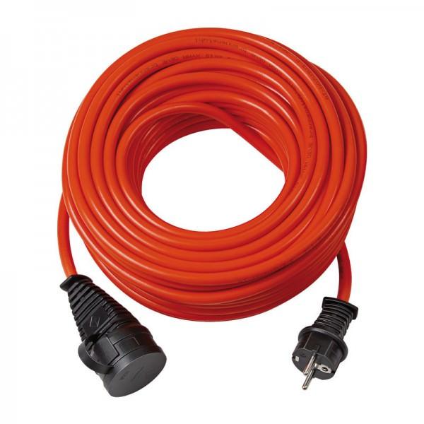 BREMAXX Verlängerungskabel IP44 in der Farbe orange