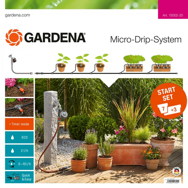 Gardena Micro Drip System M Startset automatic 13012-20 Hauptbild