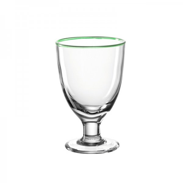 Leonardo 480ml Eisbecher grün CUCINA 16x10x10cm Glas spülmaschinenfest
