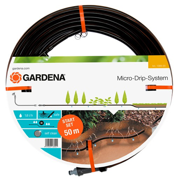 Gardena 1389-20 Tropfrohr unterirdisch 50m