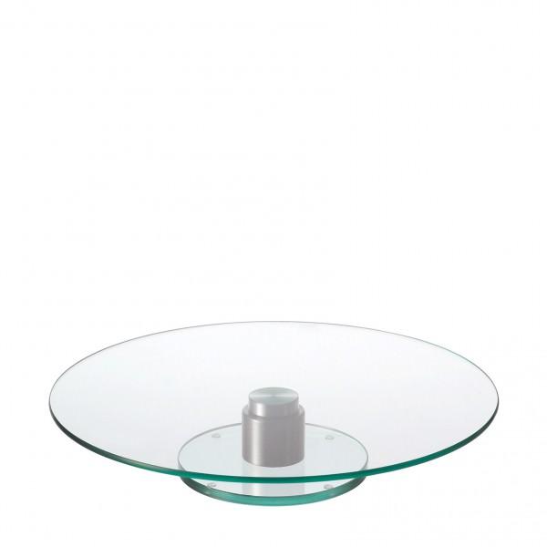 leonardo 044064 turn 33cm tortenplatte kuchenplatte servierplatte glas anti rutsch k stner. Black Bedroom Furniture Sets. Home Design Ideas