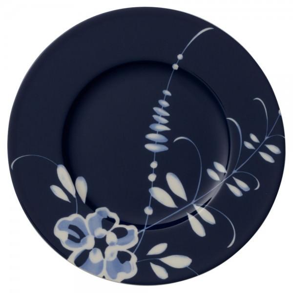 Villeroy & Boch 16cm Brotteller Vieux Luxembourg Brindille Blau Premium Porcelain