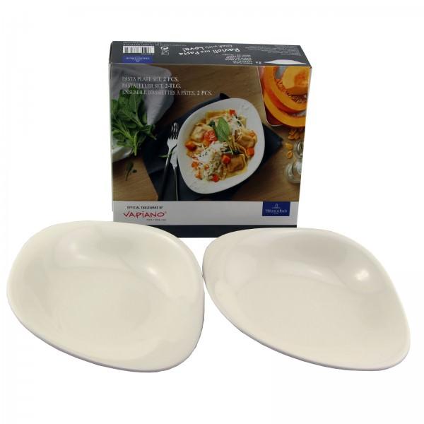 Villeroy & Boch Vapiano Pastateller Set 2-tlg Porzellan Pasta Nudeldteller