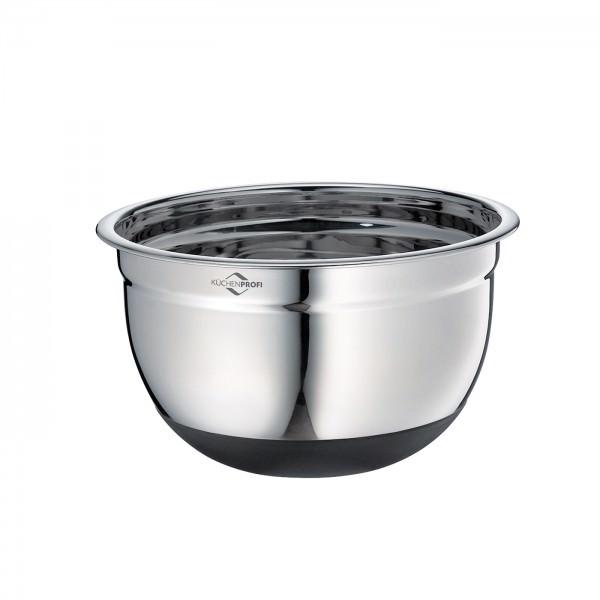 Küchenprofi 20cm Rührschüssel 2,6 L rutschfest Edelstahl
