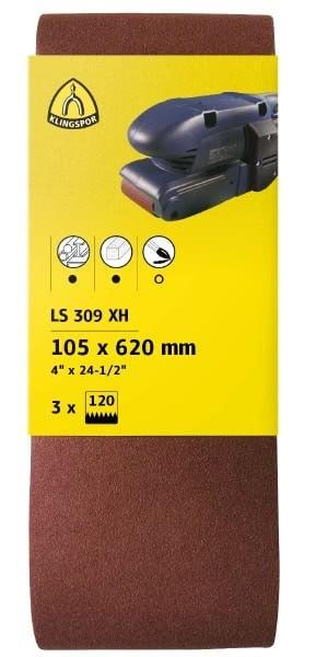 Klingspor Schleifbänder LS309XH SB-verpackt