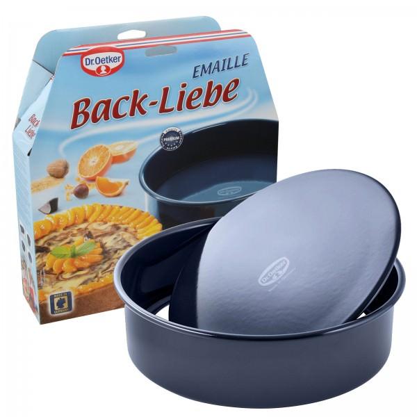 Dr. Oetker 2363 Back-Liebe Garantieform Hebeboden Kuchenform