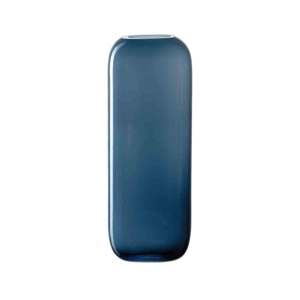 Leonardo 27x 10x 8cm Vase blau MILANO 041656 handgefertigt Hauptbild