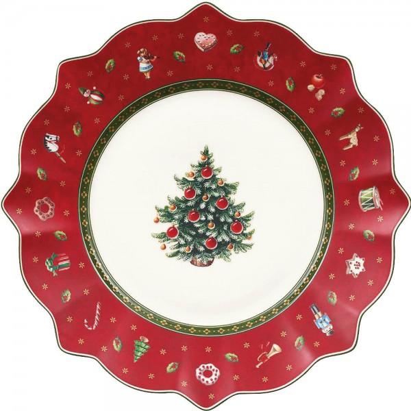 Villeroy & Boch Toy's Delight Frückstücksteller 24cm Rot Porzellan