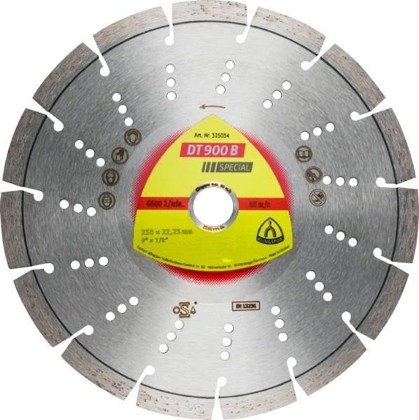 Klingspor DT 900 B Diamanttrennscheibe 125x2,4x22,23mm