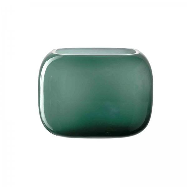 Leonardo Vase grün Glas MILANO 041662