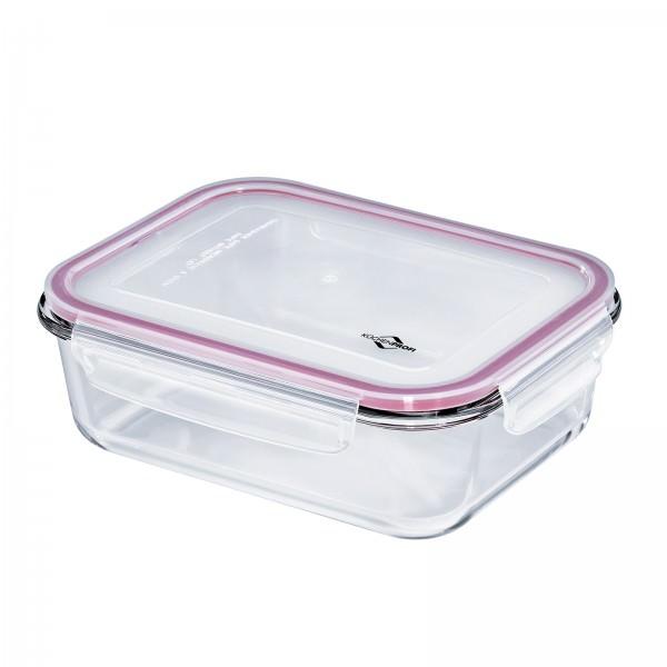 Küchenprofi 1500ml Lunchbox Vorratsdose Glas 23x18cm auslaufsicher 1001753523