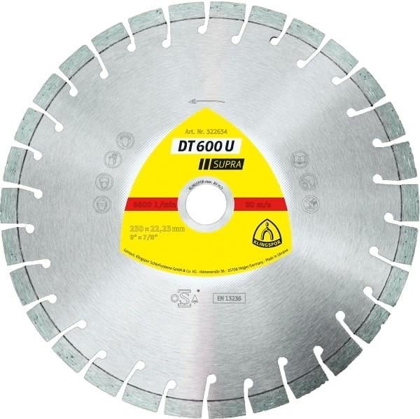 Klingspor DT 600 U Diamanttrennscheibe 125x2,4x22,23mm Beton, Altbeton