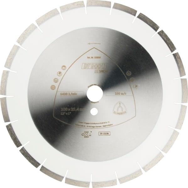 Klingspor DT 900 U Diamanttrennscheibe 300x2,8x25,4mm