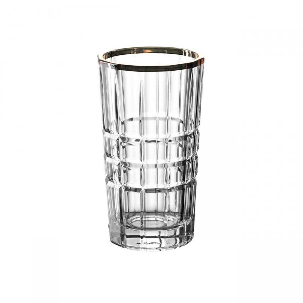 Leonardo 022704 Trinkglas Spiritii 260ml Goldrand