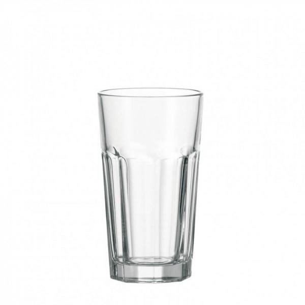 Leonardo 013384 Wasserglas XL Rock 540ml Longdrink Saftglas Glas