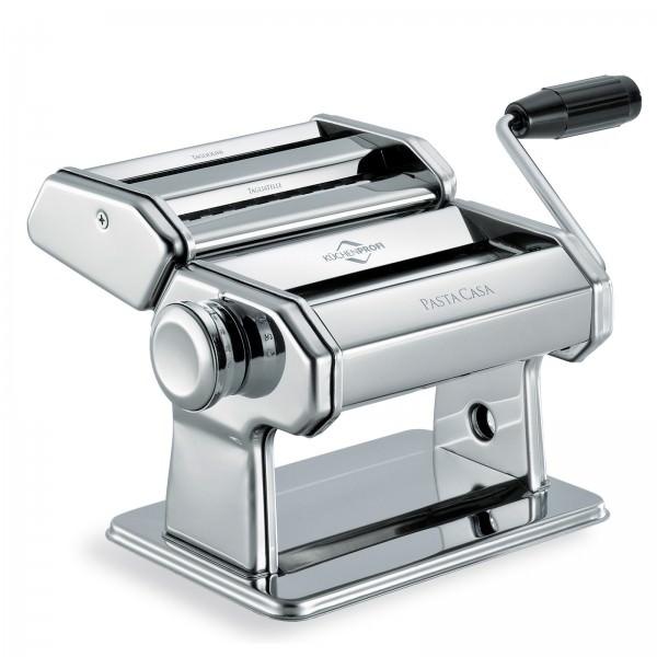 Küchenprofi Nudelmaschine PastaCasa Edelstahl Pastamaschine Nudel Pasta