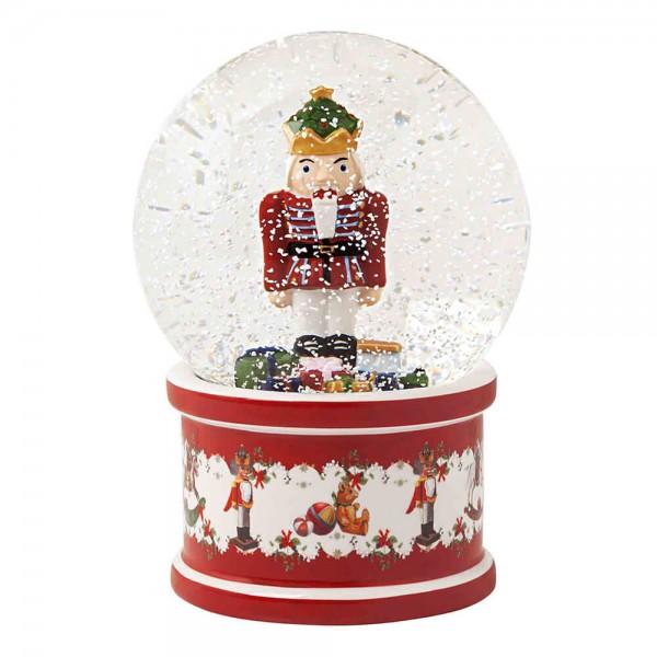 Villeroy & Boch 17cm Schneekugel Christmas Toys Porzellan Nussknacker. Hauptbild.