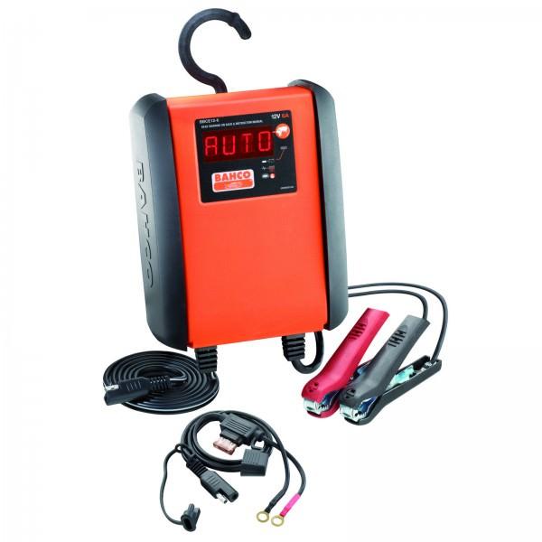 Bahco vollautomatisches Mikroprozessor Batterieladegerät 6 A 8-stufig
