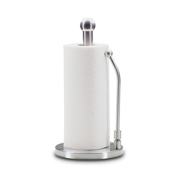Küchenprofi 33 x 17cm Papierrollenhalter PROFI Edelstahl mit Fixierfeder