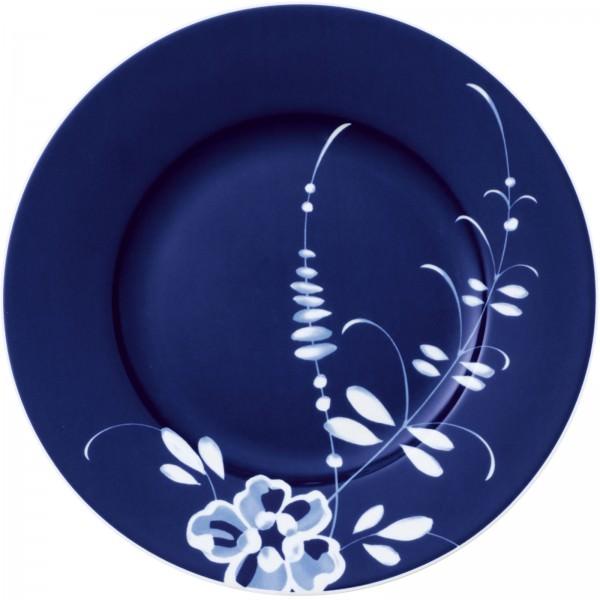 Villeroy & Boch 22cm Vieux Luxembourg Brindille Frühstücksteller Blau