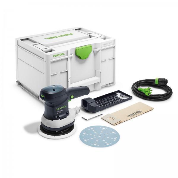 Festool Exzenterschleifer ETS 150/5 EQ-Plus 576080 mit Zubehör im Koffer