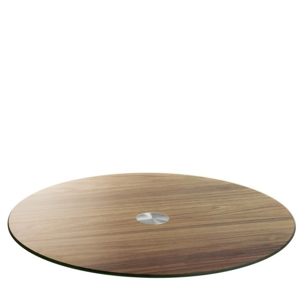 Leonardo 034924 33cm Turn Servierplatte Holzoptik