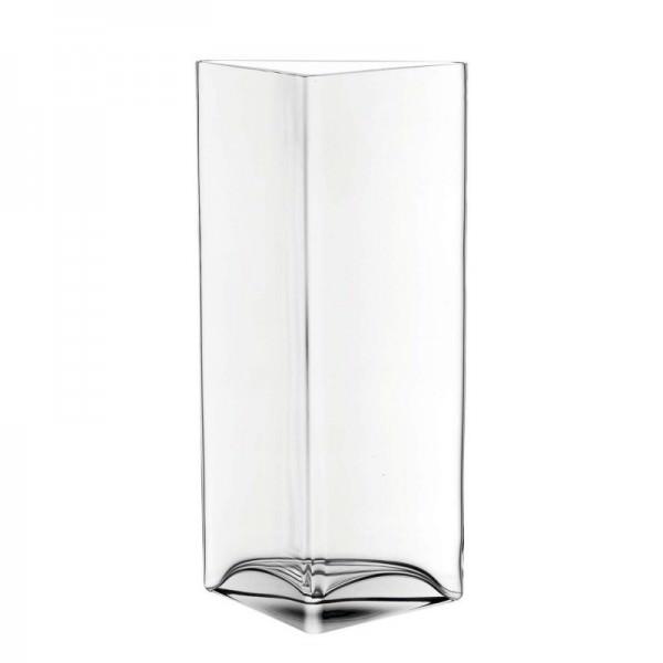Leonardo 046942 Vase 34cm Dreieck Centro Blumenvase Dekovase Glasvase