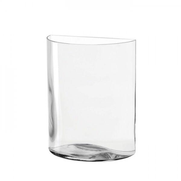Leonardo 046943 Vase 23cm Halbkreis Centro Blumenvase Dekovase Glasvase