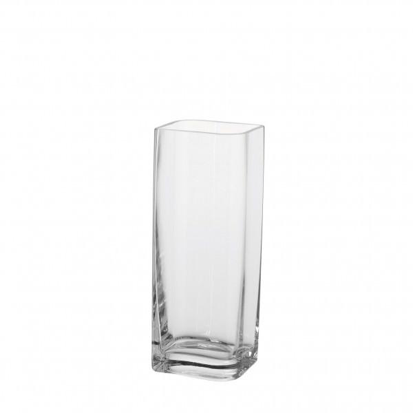 Leonardo 014327 Lucca Vase 30x11 cm Klarglas Blumenvase Handarbeit