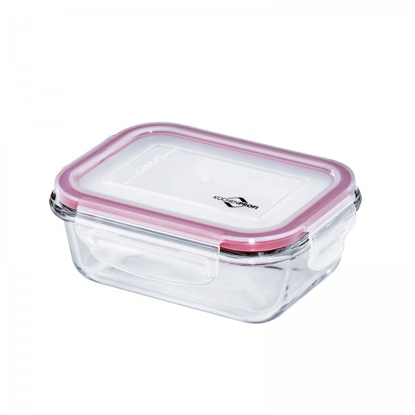 Küchenprofi 400ml Lunchbox Vorratsdose Glas 15x11cm auslaufsicher 1001753515
