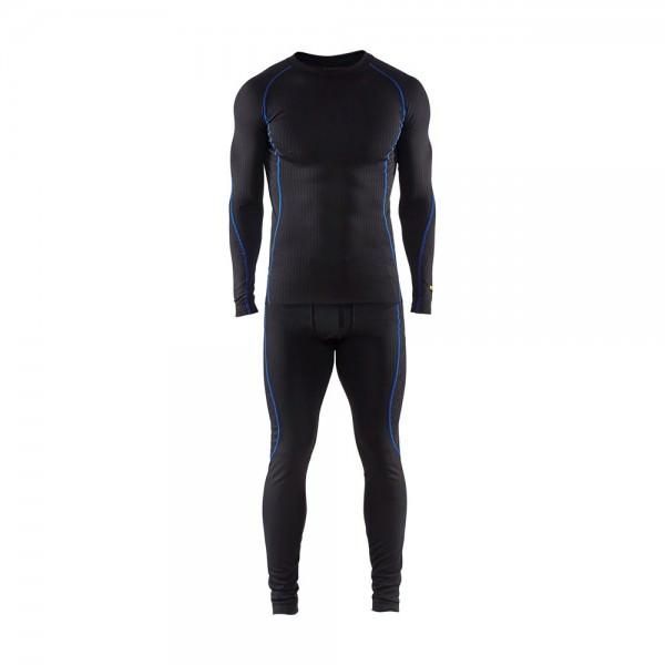 Blakläder Unterwäsche Set schwarz kornblau