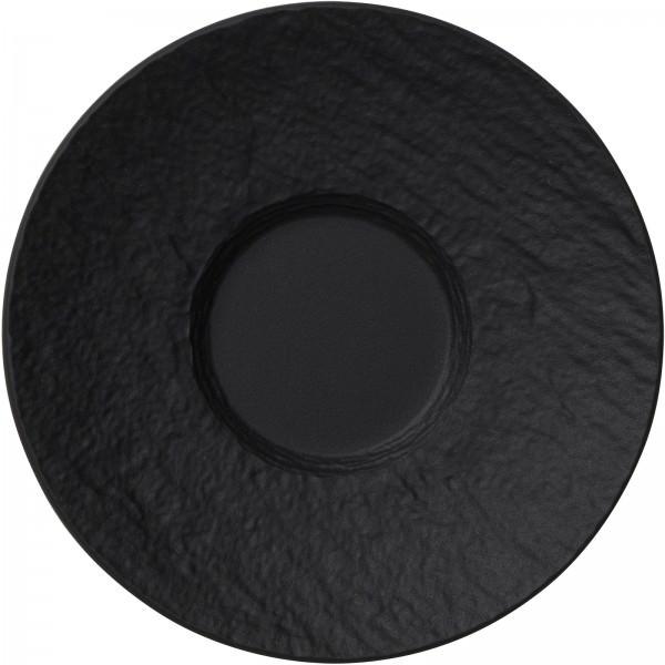 Villeroy und Boch 120mm Mokka-/Espressountertasse Porzellan schwarz