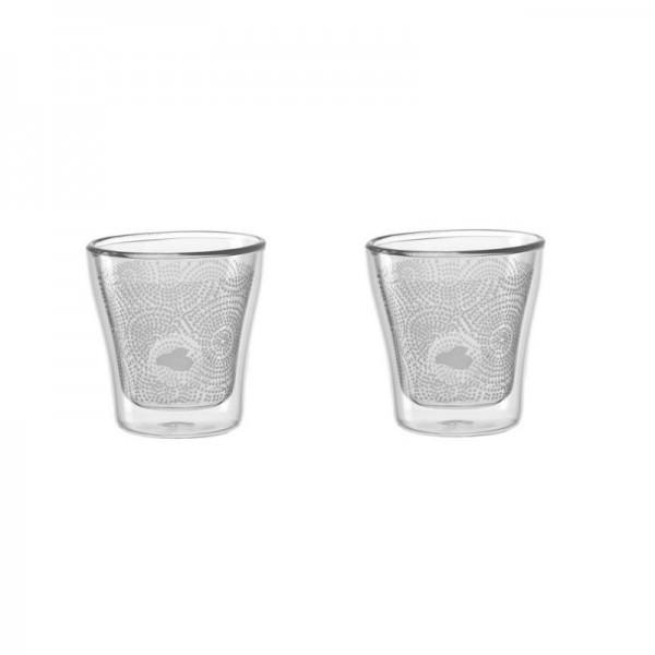 Leonardo 029761 2 Gläser Set Dekor Duo 85ml