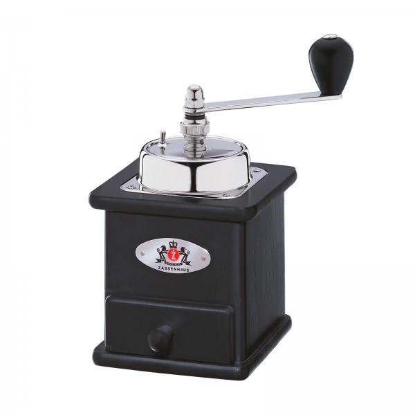 Zassenhaus 20cm Kaffeemühle Brasilia Buche schwarz 040166