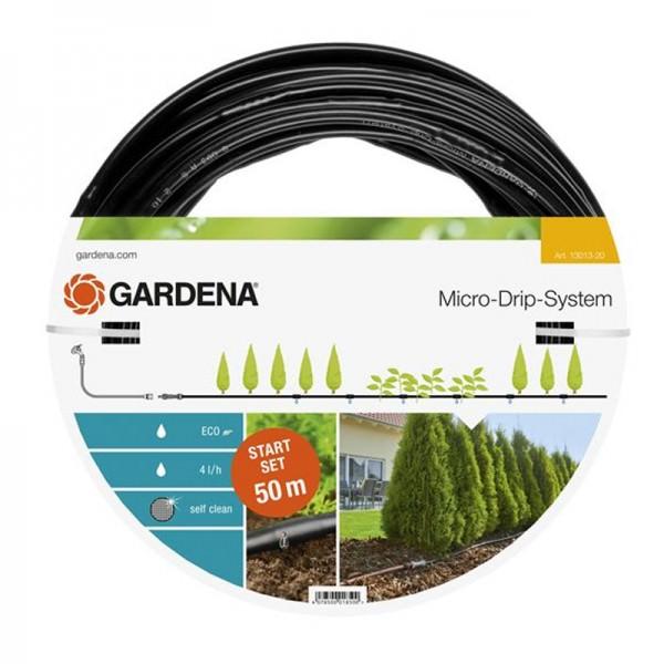 Gardena 50m Micro-Drip-System Start Set Pflanzreihe L