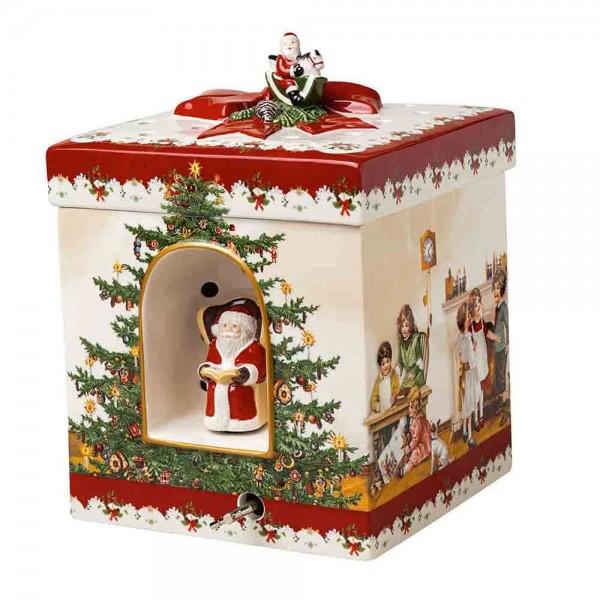 Villeroy und Boch 21x16cm Christmas Toys Porzellan Teelicht Spieluhr