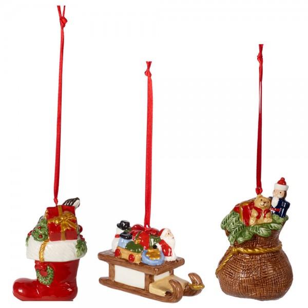 Villeroy & Boch 3-teiliges Ornamente Geschenke Set Nostalgic Ornaments