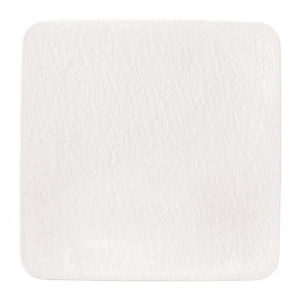 Villeroy & Boch 33cm quadratische Servierplatte Manufacture Rock blanc