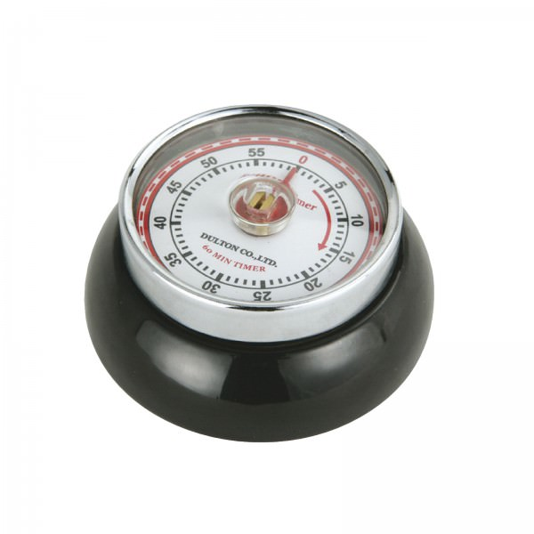 Zassenhaus Timer Speed Retro-Look 7cm Schwarz