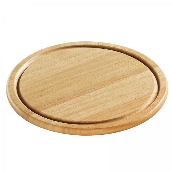 Zassenhaus 050566 Käseplatte Steakplatte Wurstplatte Holzteller