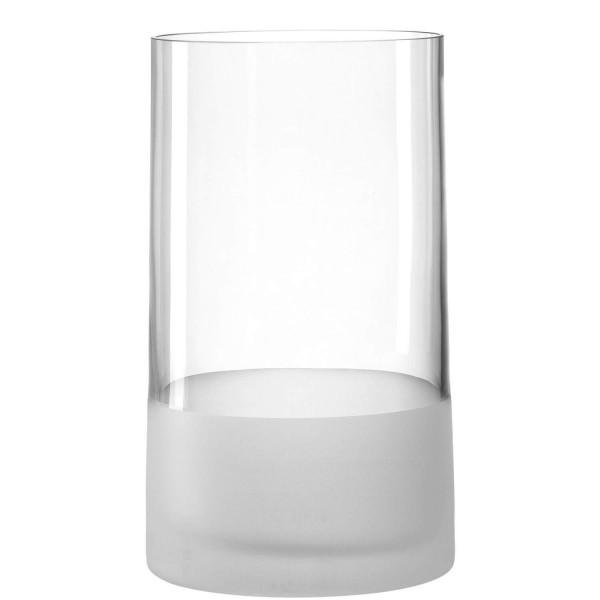 Leonardo 26cm Vase Novara satiniert 018629